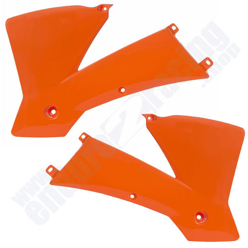 R-TECH Tankspoiler orange KTM EXC 450 Bj. 2003-2004