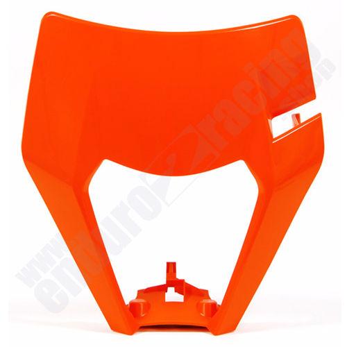 Anbaukit Lampenmaske KTM Exc ab 2008-13  Masken Gummis Schrauben