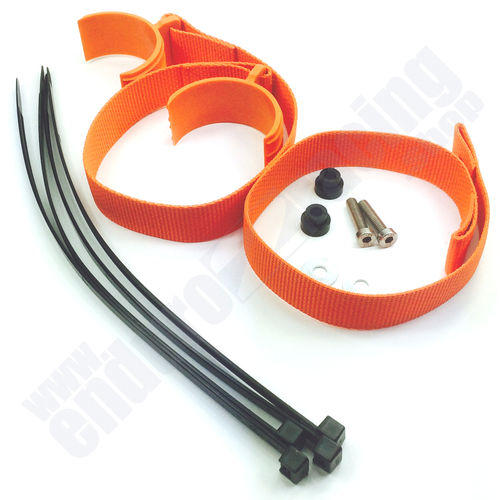 E2R Haltegurte Bergegurte Set orange KTM EXC-F 350 Bj. 2012-2013