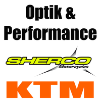 Sherco KTM Power Parts Wear Factory Parts