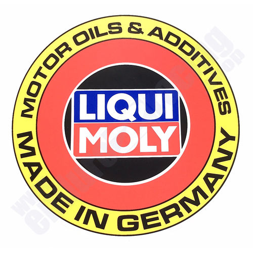 Liqui Moly Aufkleber Made in Germany